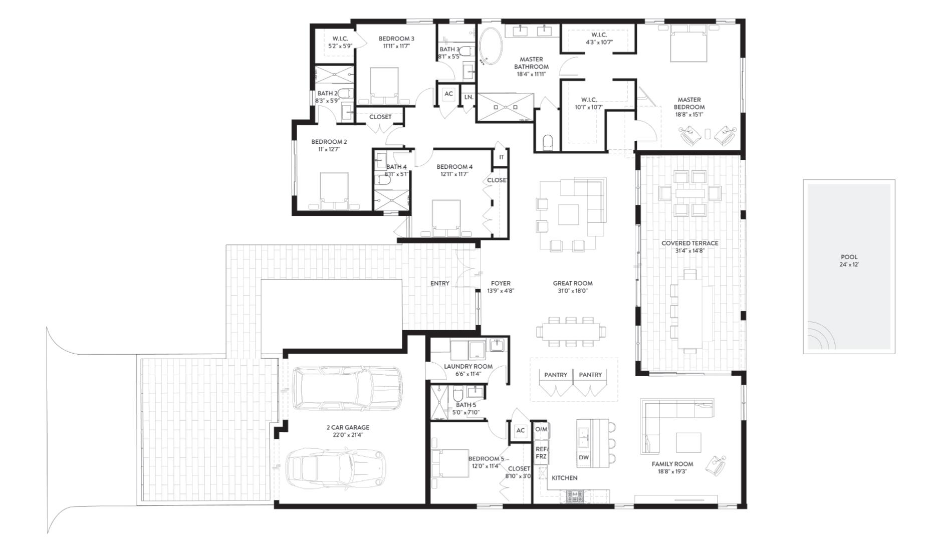 PPK P1 Floor 1